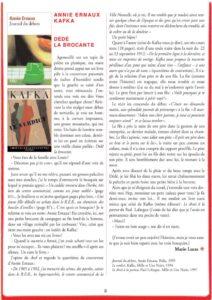 thumbnail of Annie Ernaux – Journal du dehors