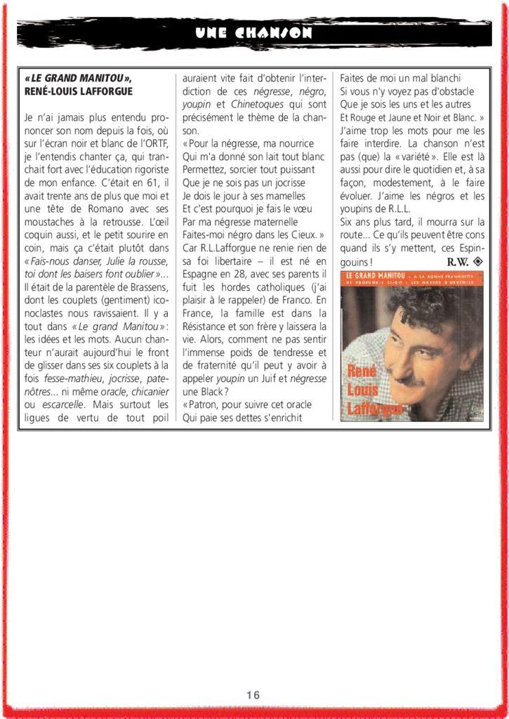 thumbnail of Le Grand Manitou – René Louis LAFFORGUE