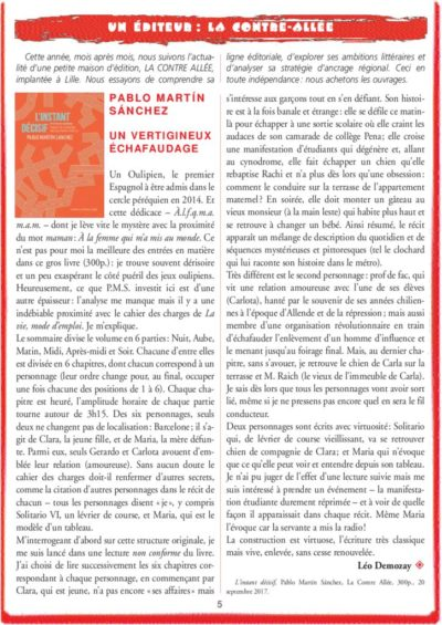thumbnail of MARTIN SANCHEZ Pablo – L'instant décisif