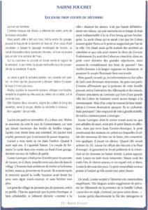 thumbnail of le_calepin_bleu_n°4_nadine_fouchet_les_jours_trop_courts