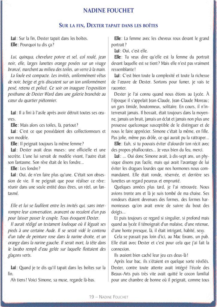 thumbnail of le_calepin_bleu_n°5_nadine_fouchet