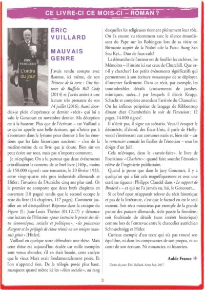 thumbnail of le_calepin_rouge_n°5_eric_vuillard
