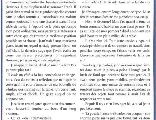 Les visiteurs de papier – Michel LALET