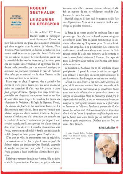 thumbnail of le_calepin_rouge_n°6_robert_seethaler_roman
