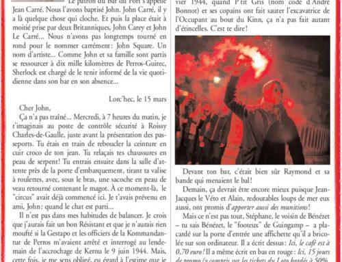 LES BELLES HISTOIRES DE RONAN LE MENN – JOHN SQUARE
