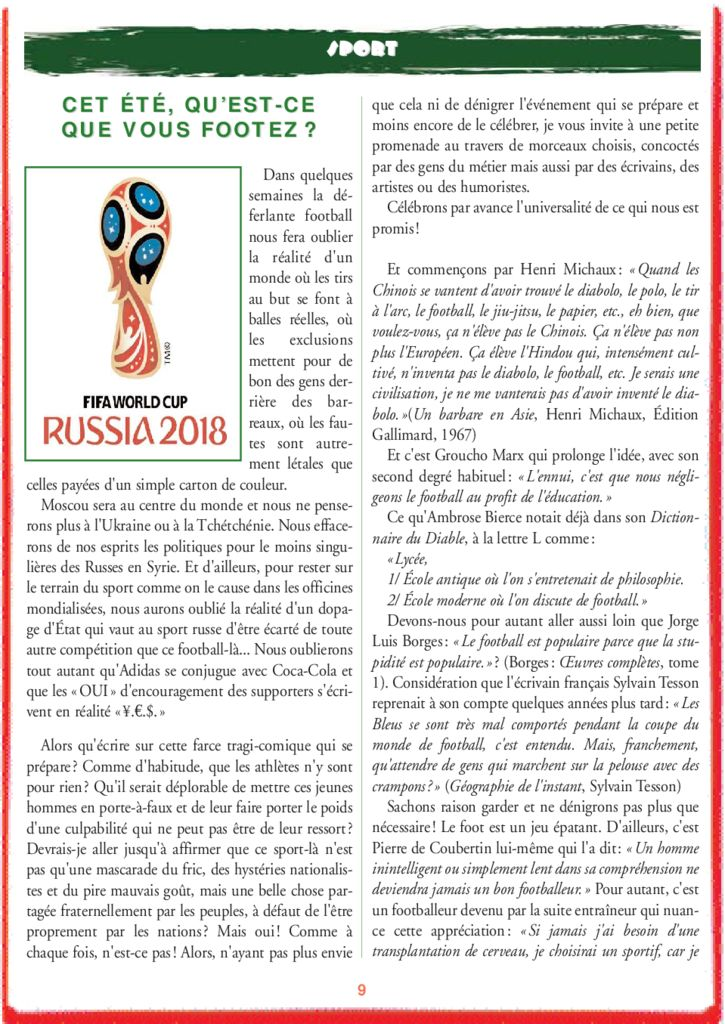 thumbnail of le_calepin_rouge_n°8_sport 1