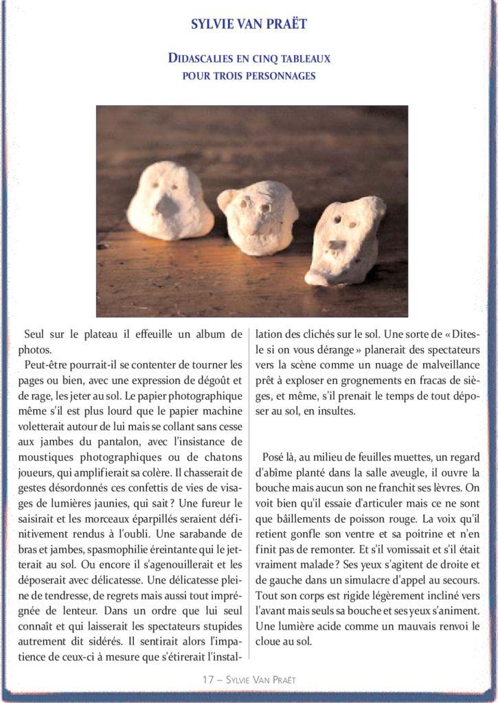 thumbnail of le_calepin_bleu_n°9_sylvie_vanpraet