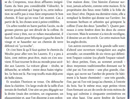 Les Laurets – Roger Wallet
