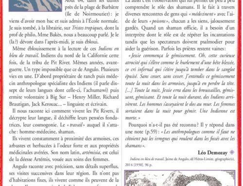 Jaime de Angulo – Poignants Tropiques