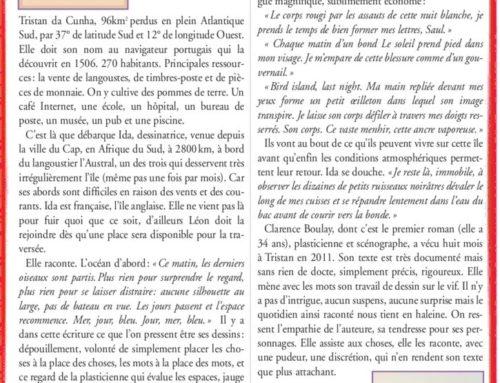Clarence Boulay – S'exiler, vibrer, ne pas en revenir