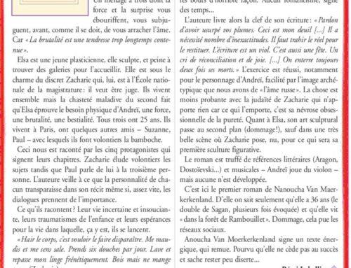 Nanoucha Van Moerkerkenland – Un flamboyant «Jules et Jim»