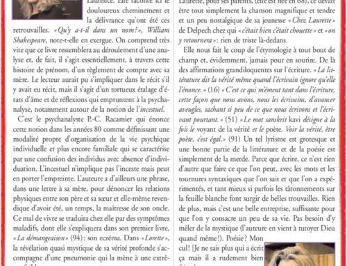 Laurence Nobécourt – Lecteur à la torture