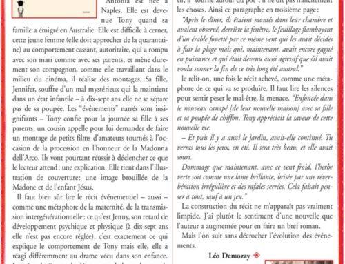 Il faut lire les silences – Marcello Fois