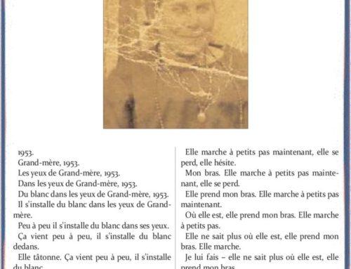 DANS LES YEUX DE GRAND-MÈRE – Roger Wallet