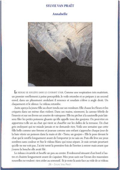 thumbnail of le_calepin_bleu_nø15_sylvie_van_praet