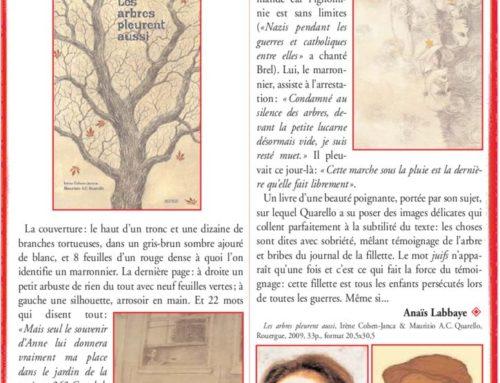 Éclats de mémoires – Irène Cohen-Janca / Maurizio A.C. Quarello