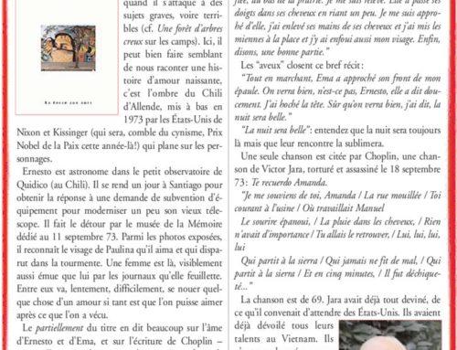 Une voix de doux silence – Antoine Choplin