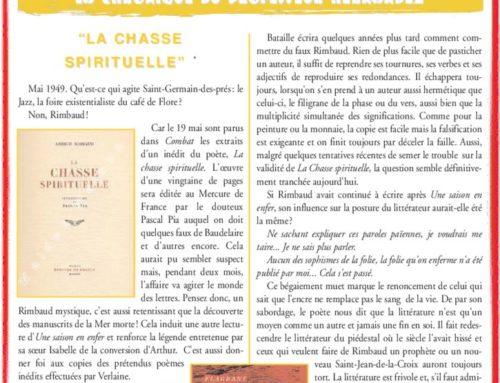 "LA CHASSE SPIRITUELLE"" SPIRITUELLE"