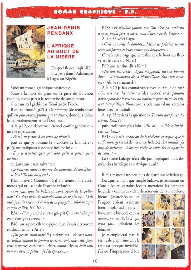 thumbnail of Jean-Denis Pendanx – L'Afrique au bout de la misère