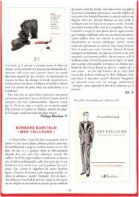 thumbnail of Mes tailleurs, Bernard Baritaud