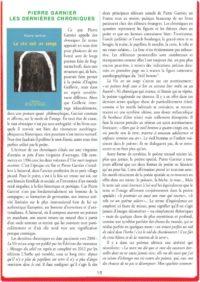 thumbnail of PIERRE GARNIER LES DERNIÈRES CHRONIQUES