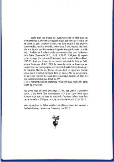 thumbnail of QUATRIÈMES DE COUVERTURE – YVES POTOSKI