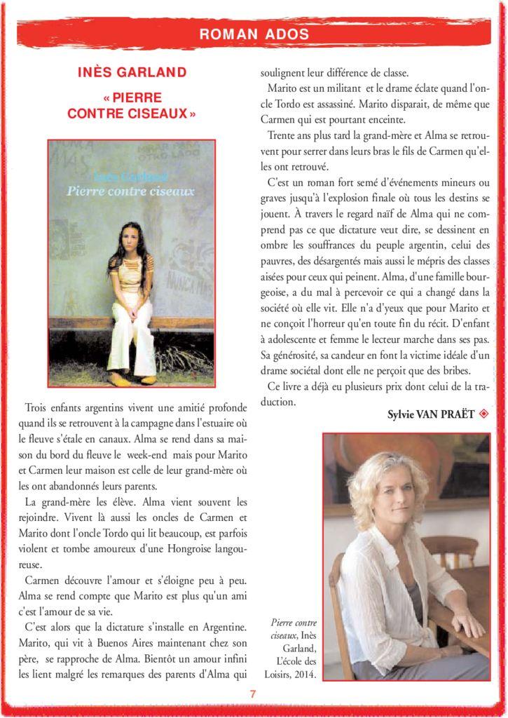 Pierre contre ciseaux – Inès Garland