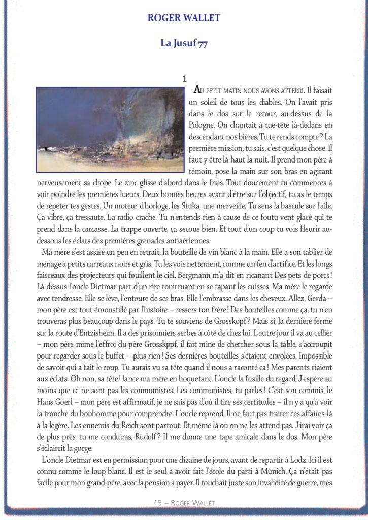 La Jusuf 77 – Roger Wallet